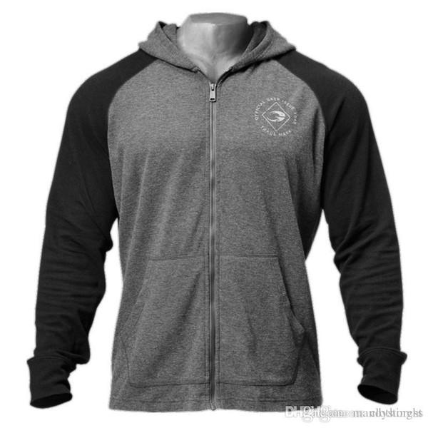 Men Zipper Sweatshirt Hoodies Autumn Winter Hoodie Male Cardigan New Long Sleeve Hoodies Mens Hooded Coat Jacket M-XXL