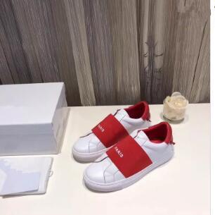 Новые брендовые повседневные женские кроссовки Hiphop из натуральной кожи с ремешком из овечьей кожи Kanye West Trainers