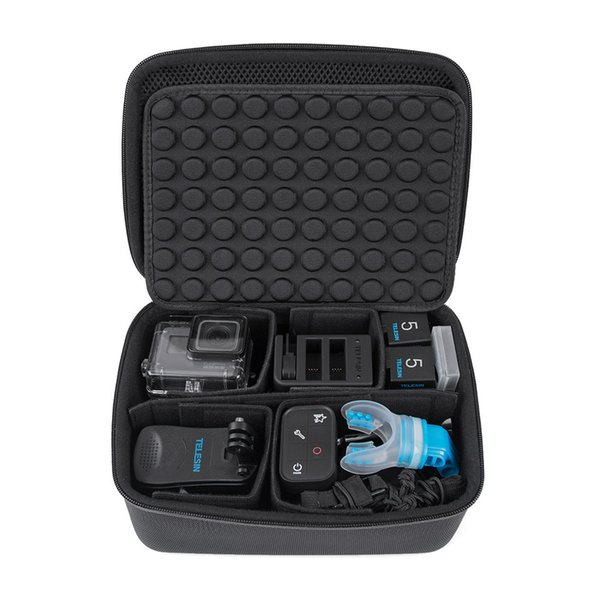 wholesale Waterproof Carrying Camera Bag Storage Box Traveling Carry Case for GoPro Hero 6 5 4 3 2 Xiaomi YI 4K, SJCAM Eken H9