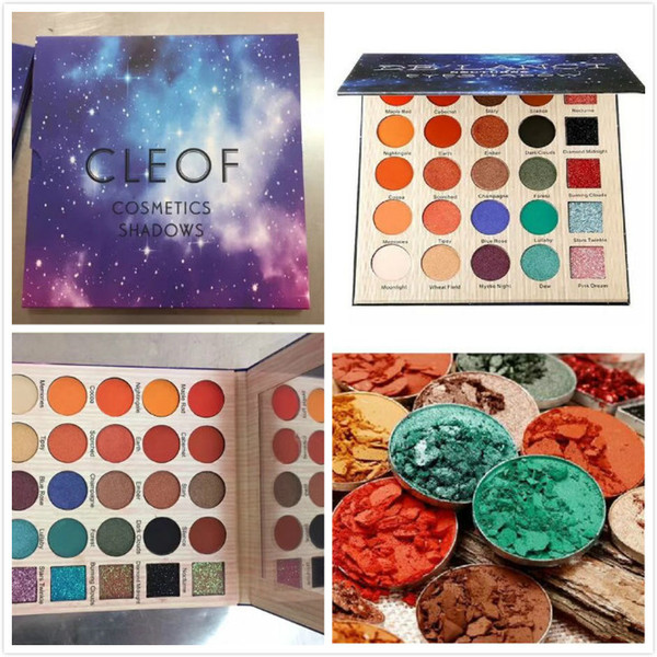 30pcs 25 Colors Eyeshadow 25 Colors Glitter Eye Shadow Cosmetic Makeup Pallet Diamond Eyeshadow Powder Set DHL Free Ship