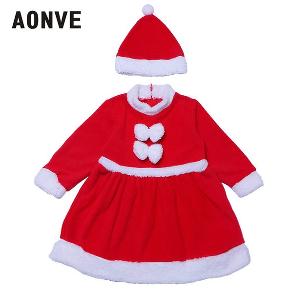 Aonve Children Christmas Clothing Kawaii Dresses For Kids Holiday Cosplay Set Role Playing Cute Fancy Clothing S M L