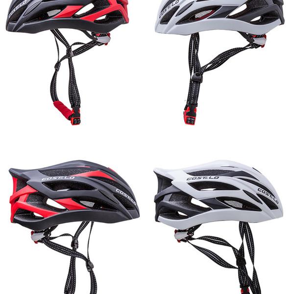 Wholesale-2016 new model COSTELO Ultralight Bicycle Helmet.4D Octal Race Day road mtb Bike HelmeM size Capacete Ciclismo Casco Bicicleta