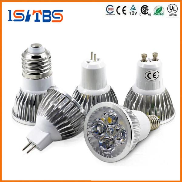 Dimmable CREE Led Lamp 9W 12W 15W MR16 GU10 E27 B22 E14 GU53 110V 220VLed spot Light Spotlight led bulb lights downlight lighting
