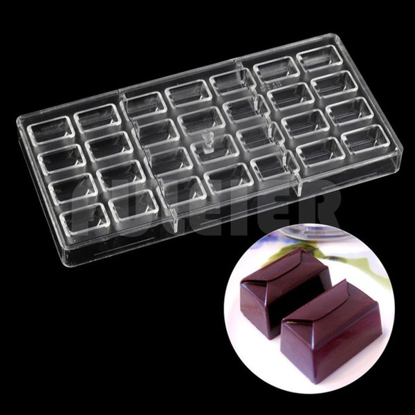 DIY pastry tools profession polycarbonate Chocolate Molds and Chocolate Making Supplies candy cake decoration froms baking mould