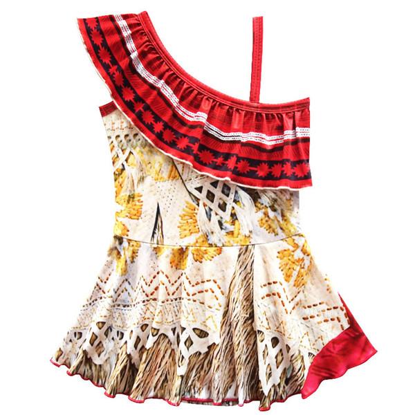 Costumi da bagno da spiaggia Costume da bagno intero per le ragazze il miglior regalo per l'estate in due stili da scegliere da soli V 002