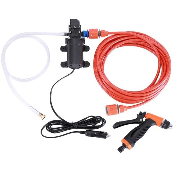 High Pressure Self-priming Electric Car Wash Washer Water Pump 12V Car Washer Washing Machine Cigarette Lighter (Retail)