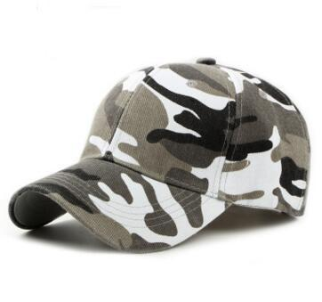 Plain Curved Cotton Army Camouflage Baseball Caps For Adults Mens Hat Womens Blank Military Hats Spring Summer Sport Sun Visor Cap 10 pcs