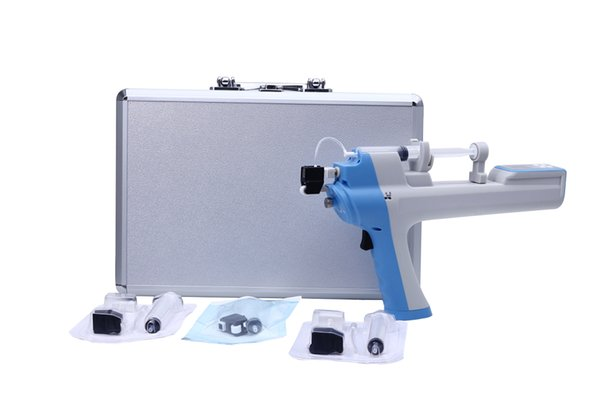 Mesotherapy Gun Display LCD rf mésothérapie pistolet thérapie du visage rajeunissement de la peau beauté machine salon utilisation DHL Gratuit