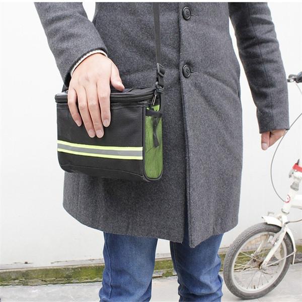 Type de ruban Sac de tête de voiture Autocollant magique Trois points Sacoches Accessoires de vélo fixes Pièces de démontage rapide Mâle Femelle Petit 4 2by cc