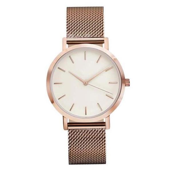 Fashion Brand Women Bracelet Watch Luxury Ladies Quartz Wrist Watches Steel Mesh Female Clock 2018 Dropshipping