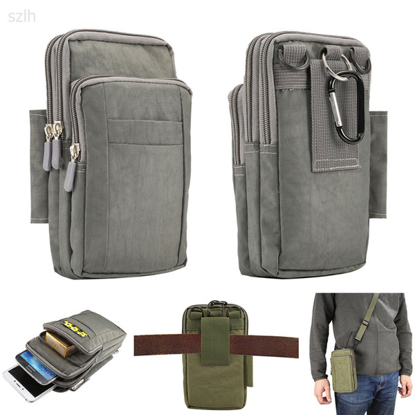 for xiaomi mia2 Multifunctional Cell Phone Bag Hanging Neck Wallet Outdoor Pouch case for xiaomi redmi note 5 /pocophone f1/mi 8