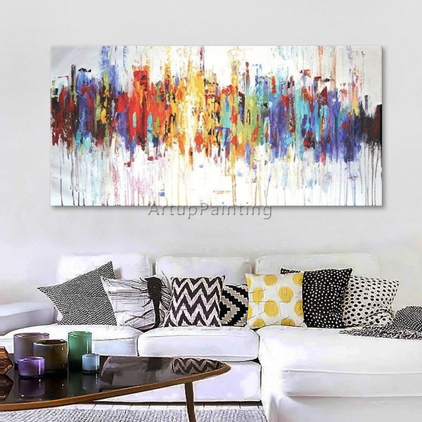 2019 Abstract Oil Painting Quadros Cuadros Decoracion Acrylic Canvas Art  Wall Painting For Living Room From Yuntengfu44190, $1057 77 | DHgate Com