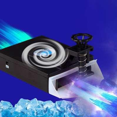 Mini Vacuum USB Laptop Cooling Pad Air Extracting Exhaust Cooling Fan CPU Cooler for Notebook Computer Hardware Cooling