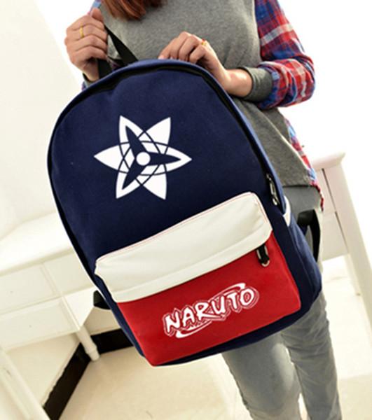 Anime Naruto Women canvas Black Butler Ciel backpack boy fashion cartoon Kuroshitsuji student book shoulders bag