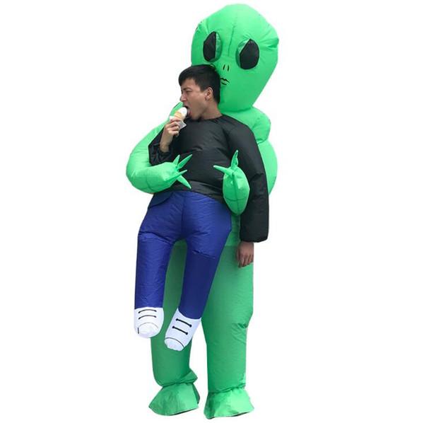 ET Aufblasbare Kleidung Halloween Performance Wear Party Cosplay Lustige Thema Kostüm