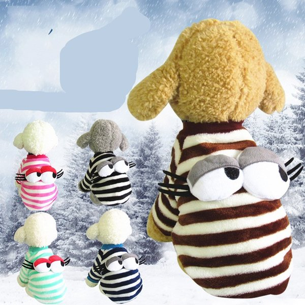Keep Warm Pet Clothes Fashion Dog Apparel Puppy Lovely Cotton Padded Clothes Autumn And Winter Clothing Hot Sale 8 5yx Ww