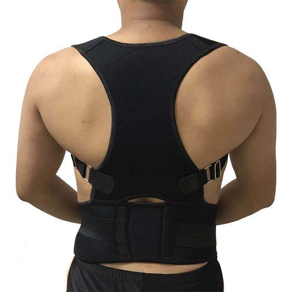7 couleurs corset dos correcteur de posture épaule attelle lombaire colonne vertébrale support ceinture correction de la posture hommes femmes