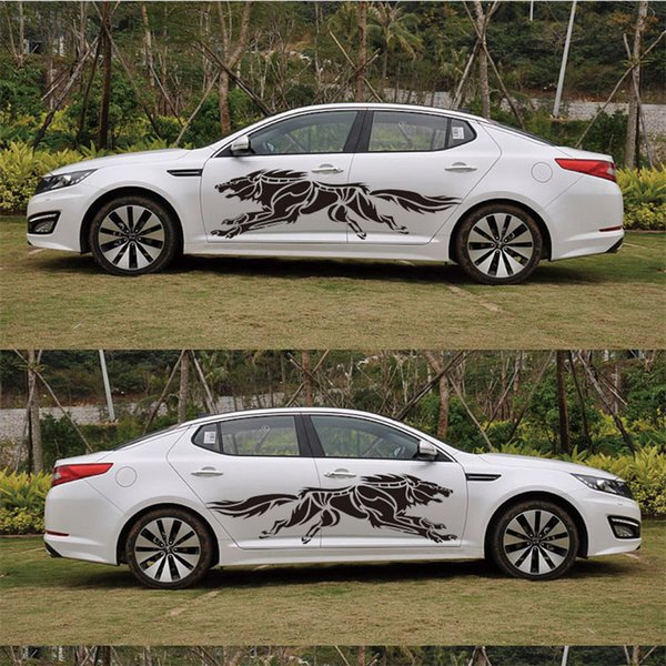 Wolf Totem Personality Retrofitting Scratch Cover Auto Body Stickers Model General Car Stickers