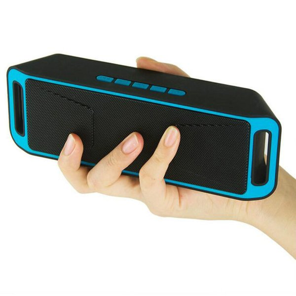 SC208 Wireless bluetooth lautsprecher tragbare outdoor audio doppel horn bluetooth mini lautsprecher unterstützung TF / UDisk Multifunktions