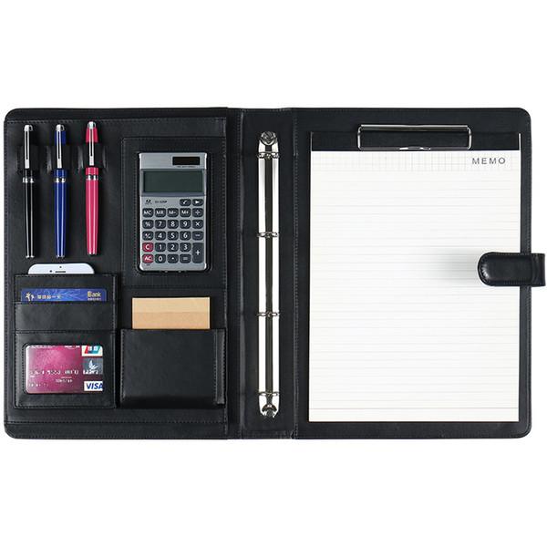 Großhandel A4 Classic Calculator Leder Manager Ordner Multifunktions Kombination Ordner Business Office Organizer Portable Von Livegold 38 31 Auf
