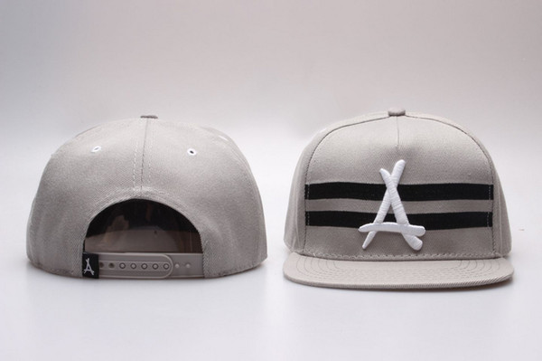 Hot Snapback Caps Tha Alumni baseball Snapback Hats Mens Gold A Hip Hop Sports Hats fashion New Brand Wholesale Adjustable Bone gorras Cap