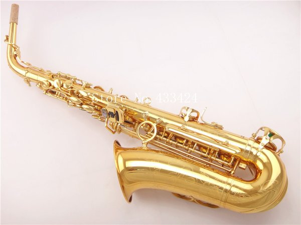 Yanagisawa 901 E Плоские Альт-Саксофоны Саксофон Eb Топ Музыкальный Инструмент Сакс Золотой Процесс Саксофон Профессиональный
