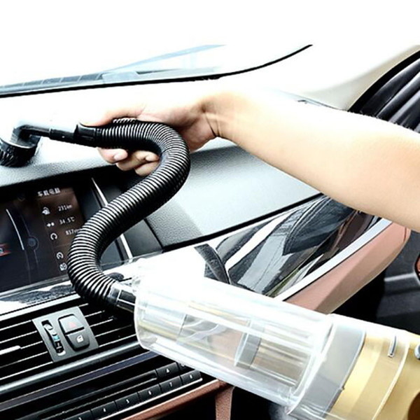 150W Car Vehicle Vacuum Cleaner with 5M Cable and Light High Power Wet Dry Dual Use Vacuum cleaner
