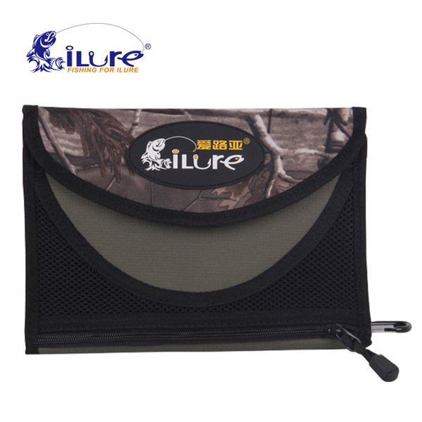 iLure Fishing Soft Lure Bags 24.5x6.5x3cm 240g Professional waterproof Sequin jig bag Bait Bags Large capacity bag free shipping