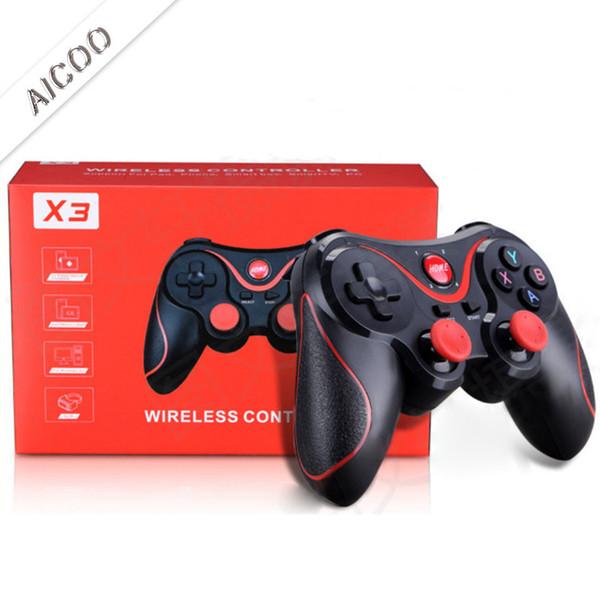 Universal Sem Fio Bluetooth Controladores Do Console Do Jogo Do Bluetooth Gamepad Joystick Para Android Smartphone Comprimidos De Computador Com Varejo