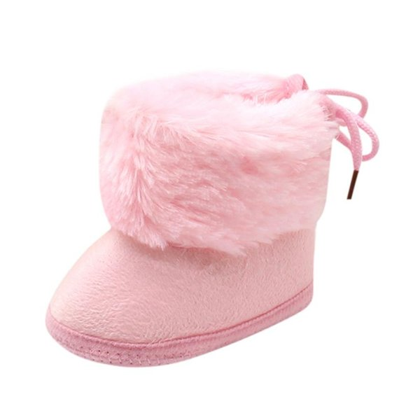 Baby Girl Boy Shoes Soft Booties Snow Boots Infant Toddler Newborn Warming Shoes