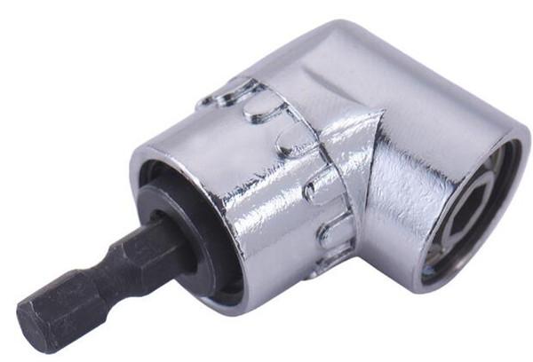 "High Quality 1PCS 105 Degree 1/4"" Extension Hex Drill Bit Adjustable Hex Bit Angle Driver Screwdriver Socket Holder Adaptor Tools"