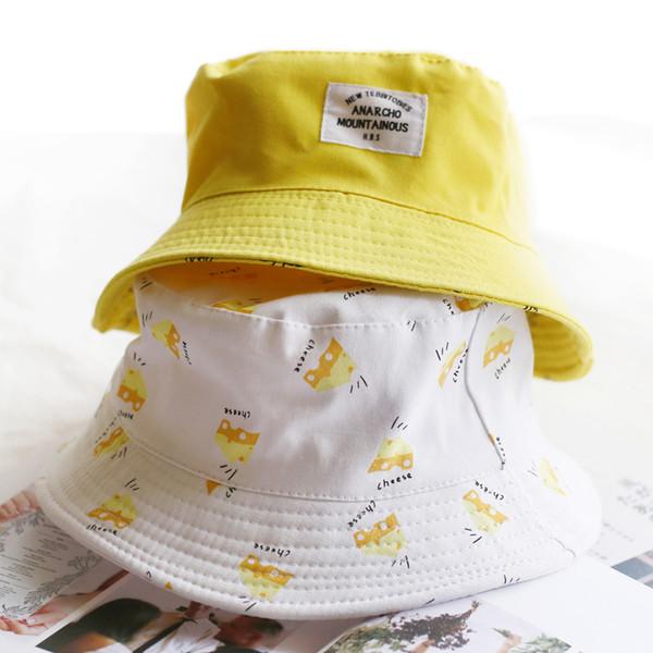 654541836d29c8 Panama Two Side Reversible unisex fashion Bucket Hat Bob Caps Hip Hop Gorro  Men Summer Cap