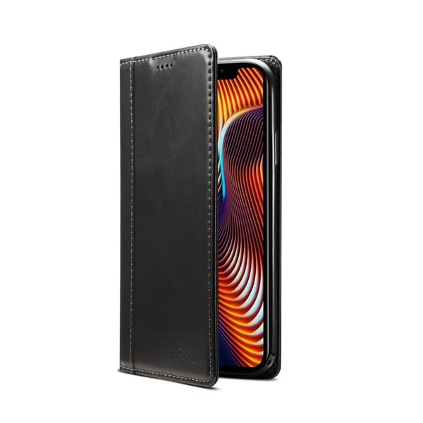 For iPhone Xs Max 6.5inch Genuine Cowhide Cell Phones Protect Leather Case with TPU Case,Card Slot,Realize wireless charging