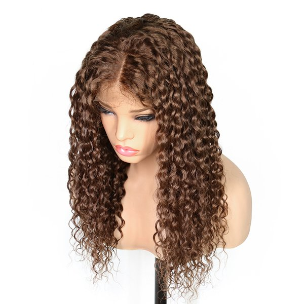 Long Curly Lace Front Human Hair Wigs For Black Women Brazilian Remy Hair 100% Hand Tied Full Lace Wig Pre Plucked With Baby Hair lacefront