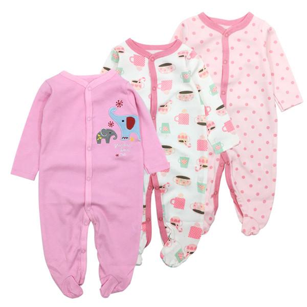 Bodys Umlegekragen Langarm Baby Kleidung Winter Overalls Neugeborenes Baby Mädchen Kleidung Set Overall