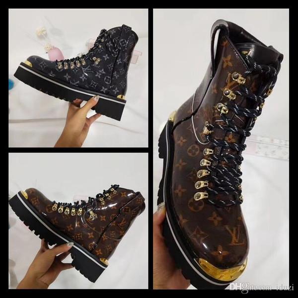 Hot! Luxury Brand Designer ankle boots Superstar Fashion Designer Men Womens Boots High Heel Winter boots Fashion Luxury Brand Designer boot