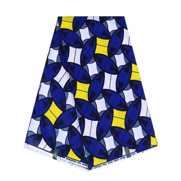 6 yards African wax prints fabric pretty style cotton ankara fabric for DIY dress hollandais wax fabric WB-127