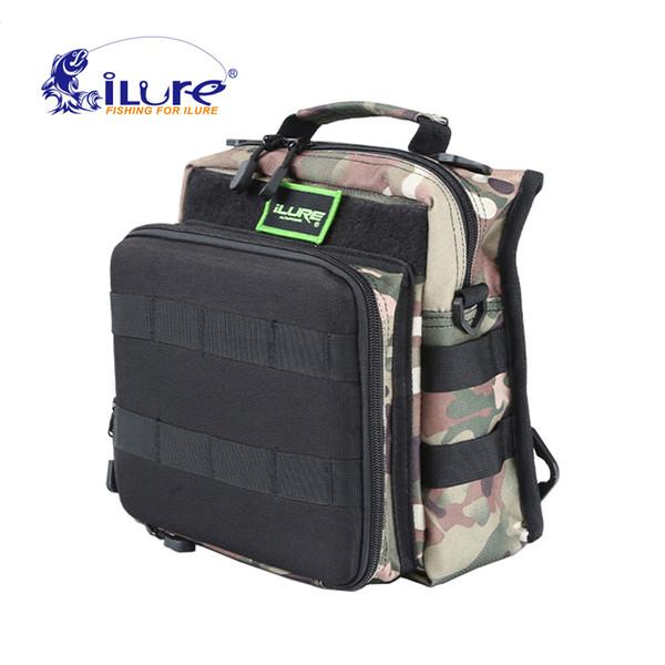 New Brand iLure 24*13*22 cm multifunctional fishing bags waterproof fishing lure tackle fishing bag backpack
