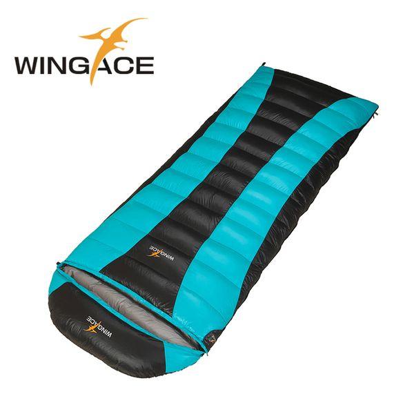 Fill 400G 600G 800G Duck Down Sleeping Bag Ultralight Large Size Spring Autumn Camping Hiking Envelope Sleeping Bag Outdoor Bags