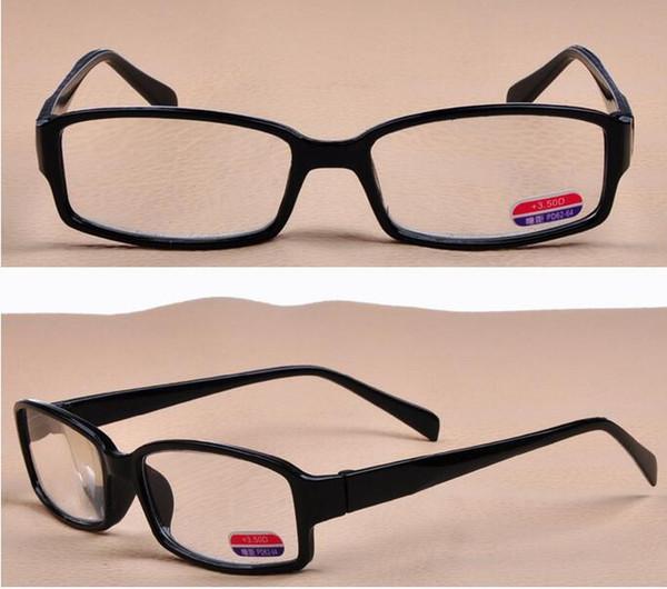 20 pcs, resistir à fadiga Super leve Resina óculos Presbiopia óculos para Anciões Com diferentes Graus Elegantes Óculos de leitura de alta definição