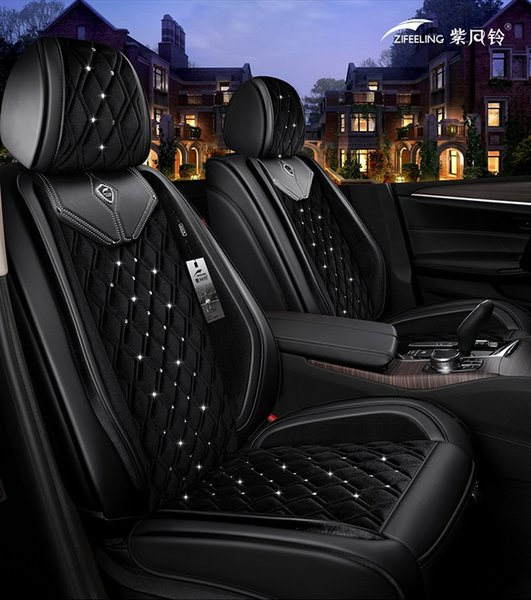 Stupendous Universal Fit Car Accessories Seat Covers For Trucks Top Quality Pu Leather Five Seats Covers For Suv For Sudan Full Surround Diamond Design Best Baby Inzonedesignstudio Interior Chair Design Inzonedesignstudiocom