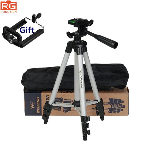 Stativ mit 3-Wege-Kopf Stativ für Nikon D7100 D90 D3100 DSLR Sony NEX-5N A7S Canon 650D 70D 600D WT-3110A