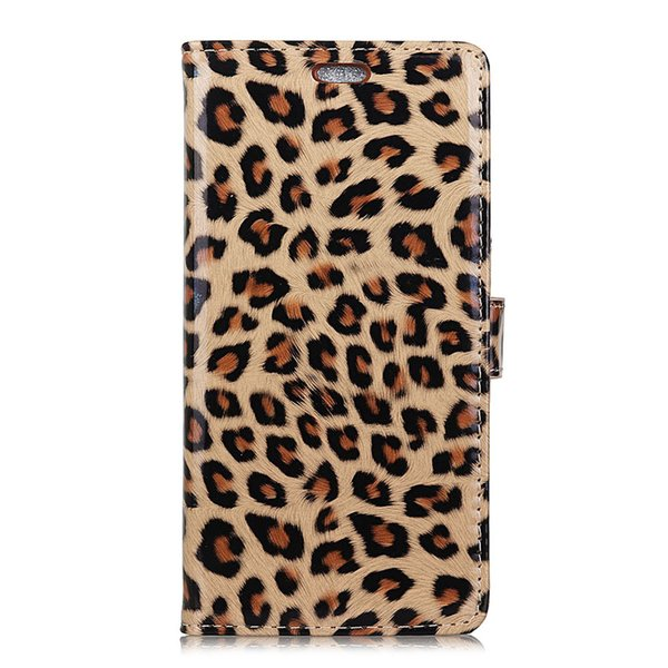 Fashion Leopard Leather Cover Case for iphone X XS XR Handmade Phone Accessories for Girls Women Fundas Coque for iphone XS Max