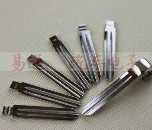 Original Replace Folding key blade For KIA K2 Car embryo replacing the key head Remote Key Blade NO.100