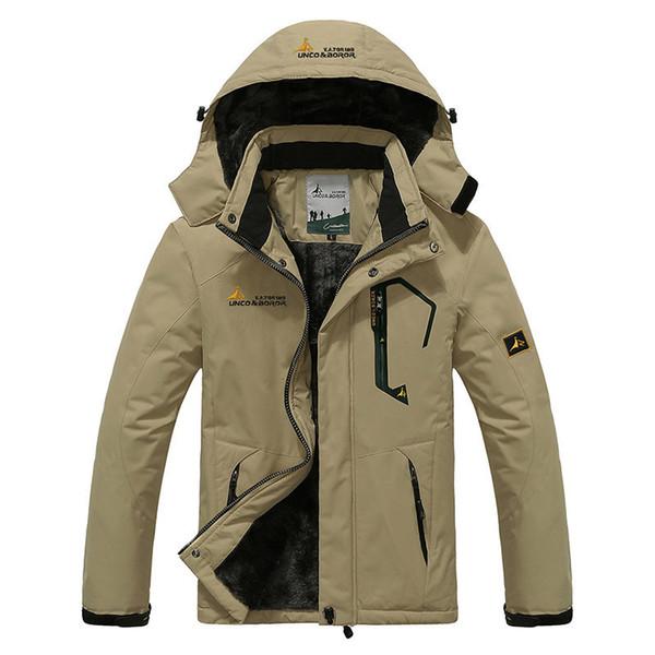 2018 Large Size Top Quality Warm Outwear Men Parkas Sport Winter Jacket Thicken Hood Outdoor Men Jacket Size L-4XL 9 Colors cheap new