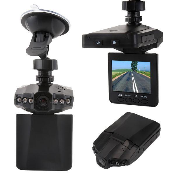 Cámara del coche DVR de 2.5 pulgadas con 6 luces LED Cámara auto del coche Video Recorder Dash Cam Detección del movimiento Visión nocturna