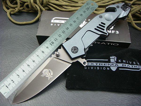 Extrema Ratio MF3 Grandi coltelli pieghevoli in alluminio Maniglia Tactical Caccia Survival Utility EDC Tools Collection