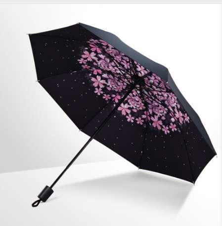 New Creative 1PC Windproof Anti-sun Folding Reverse Umbrella Double Layer Inverted Windproof Rain Car Umbrellas For Women Men