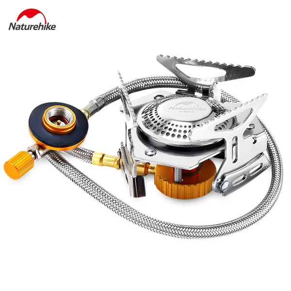Portable Folding Split Type Cooking Stove Gas Burner BBQ Picnic Gas Cooking Stove with Case Cookware for Outdoor Camping Hiking VB