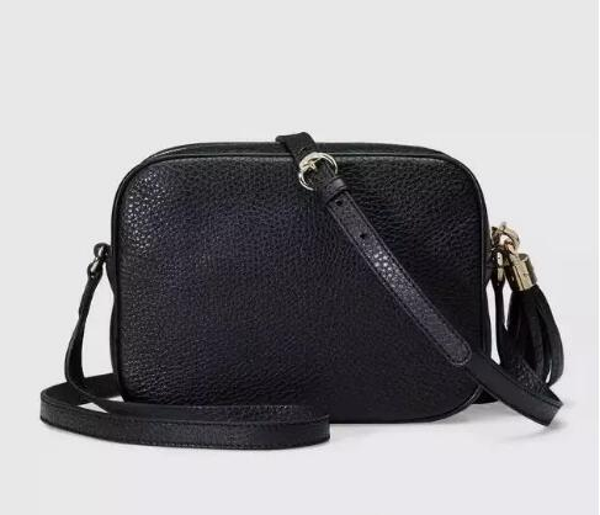 2018 HOT!!Women Leather Soho Bag Disco Shoulder Bag Purse 308364 Clutch bag free shopping Famous designer of big brand